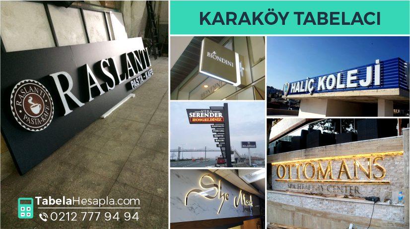 Karaköy Tabela